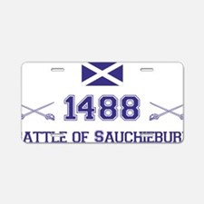 1488 Battle of Sauchieburn  Aluminum License Plate
