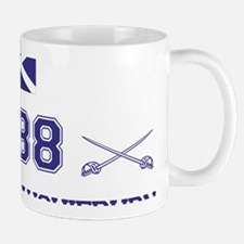 1488 Battle of Sauchieburn (Blue) Mug