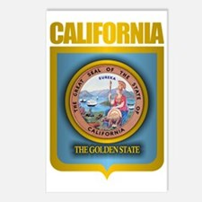 California (Gold Label) Postcards (Package of 8)