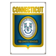 Connecticut (Gold Label) Banner