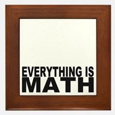 43everythingismath Framed Tile