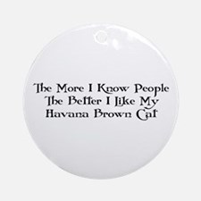 Like Havana Ornament (Round)
