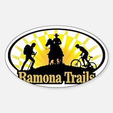 Ramona_Trails_6 Sticker (Oval)