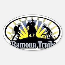 Ramona_Trails_3 Sticker (Oval)