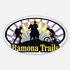Ramona_Trails_4 Sticker (Oval)