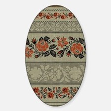 Ukrainian Embroidery Decal