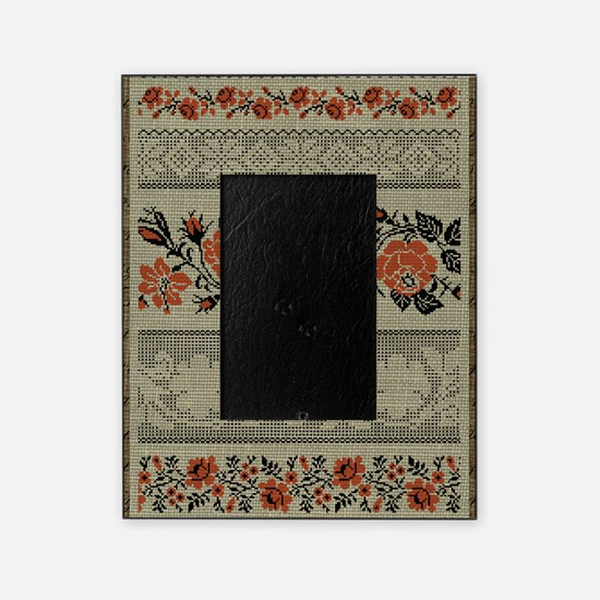 Ukrainian Embroidery Picture Frame