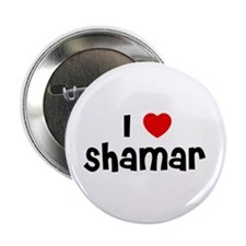 "I * Shamar 2.25"" Button (10 pack)"