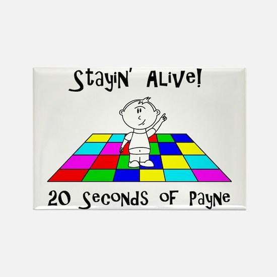 payne-dancingfront Rectangle Magnet