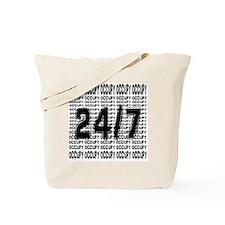 OCCUPY 24/7 shirt Tote Bag