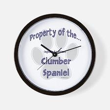 Clumber Property Wall Clock