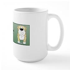 BlondeBulldogDadMug Mug