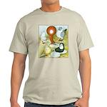 Pigeon Color Book Light T-Shirt