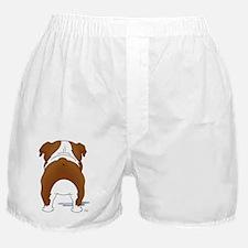 RedBulldogShirtBack Boxer Shorts