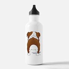 RedBulldogShirtBack Water Bottle