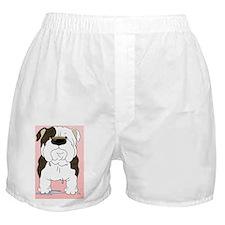 BrindleBulldogCard Boxer Shorts