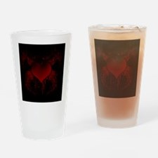 Bat-Winged Heart (iTouch4) Drinking Glass