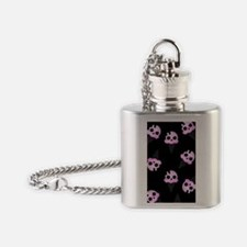 Scene Ice Cream black (iTouch4) Flask Necklace