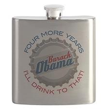 ObamaBottleCap Flask