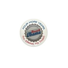 ObamaBottleCap Mini Button