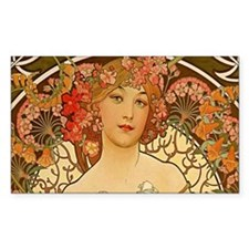 alfons-mucha-painting Decal