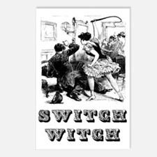 Switch Witch Postcards (Package of 8)