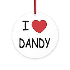 DANDY Round Ornament