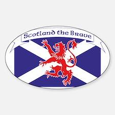 Scotland the Brave 1 Decal