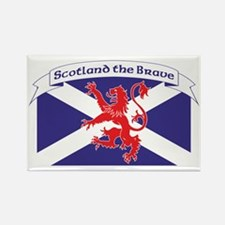 Scotland the Brave 1 Rectangle Magnet
