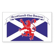 Scotland the Brave 1 Decal