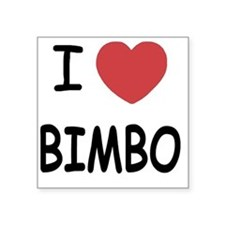 "BIMBO Square Sticker 3"" x 3"""