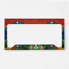 Parrots  Margarita License Plate Holder