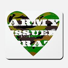 armyissuedbratdark Mousepad