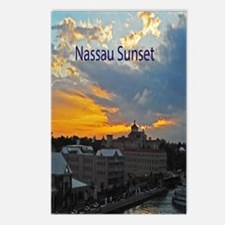 sunset Nassau8.8x11.6 Postcards (Package of 8)