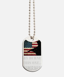 Try Numbnut dark Dog Tags