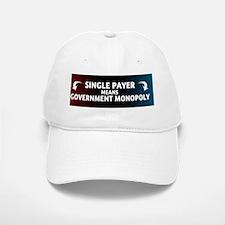 feb12_single_payer Baseball Baseball Cap