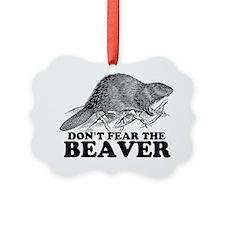 beaverBLK Ornament