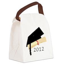 Grad_2012.gif Canvas Lunch Bag