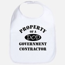 Property of a DOD Government Contractor Bib