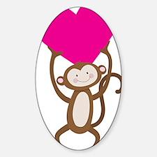 Monkey Heart Decal