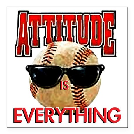 "AttitudeBB2-7-12NEW Square Car Magnet 3"" x 3"""