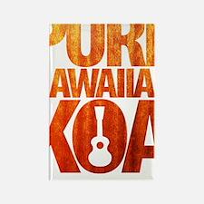 Pure Hawaiian Koa Rectangle Magnet
