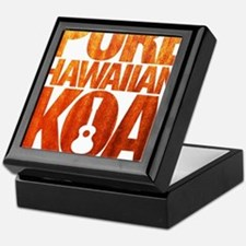 Pure Hawaiian Koa Keepsake Box