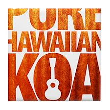 Pure Hawaiian Koa Tile Coaster