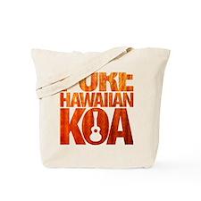 Pure Hawaiian Koa Tote Bag