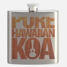 Pure Hawaiian Koa Flask