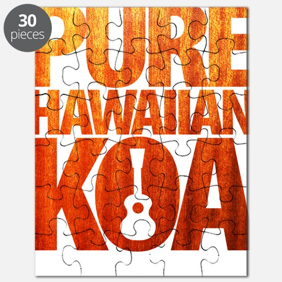 Pure Hawaiian Koa Puzzle