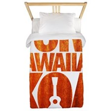 Pure Hawaiian Koa Twin Duvet