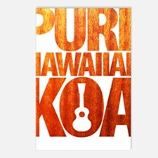 Pure Hawaiian Koa Postcards (Package of 8)