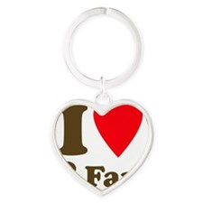 +heart2fart Heart Keychain
